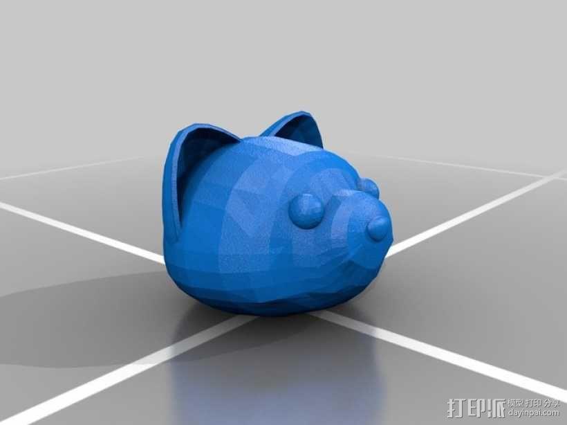Foxkeh version 3摆件 3D模型  图1