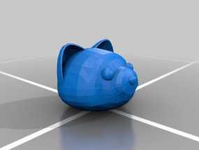 Foxkeh version 3摆件 3D模型