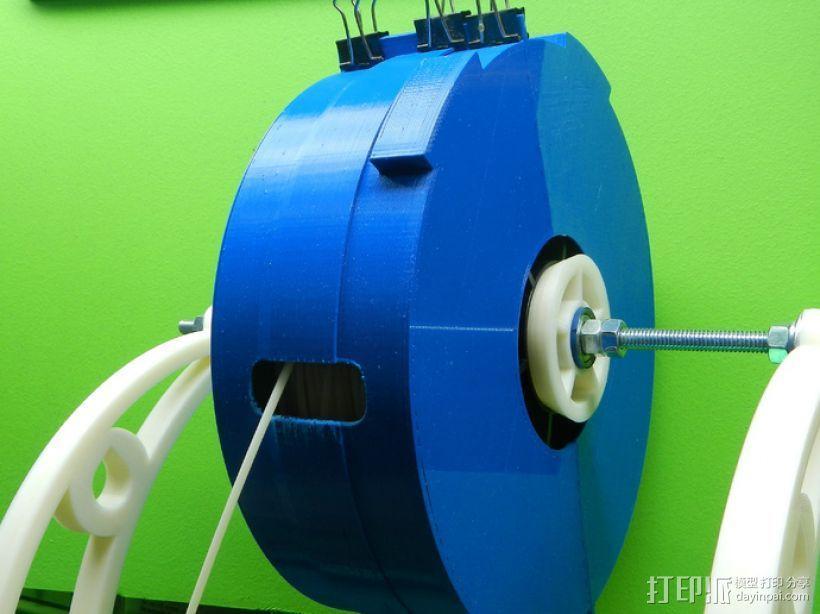 灯丝线轴存储器 3D模型  图1