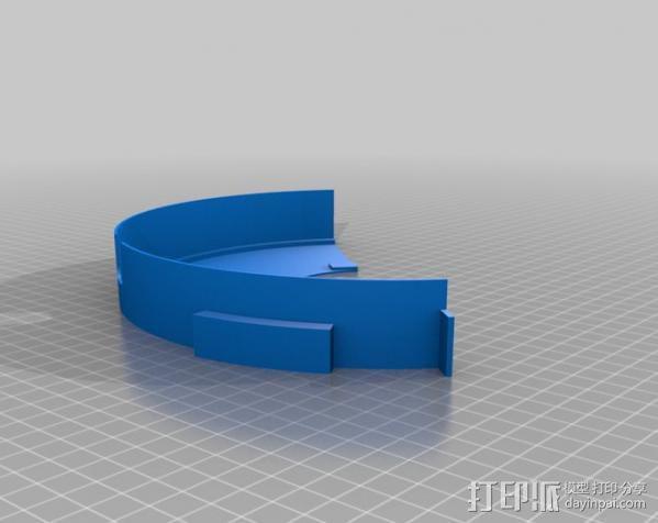 灯丝线轴存储器 3D模型  图3