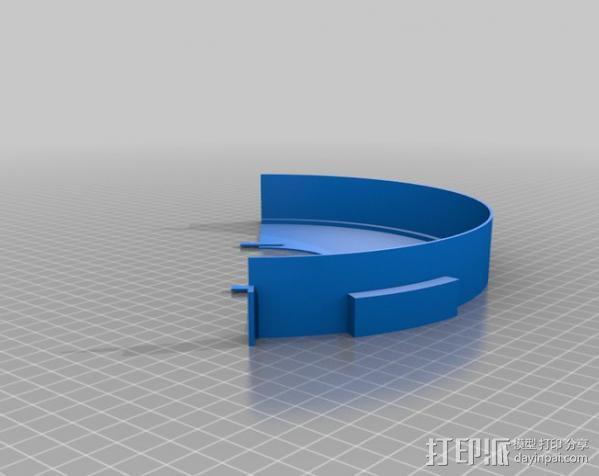 灯丝线轴存储器 3D模型  图2