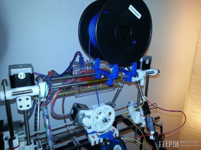 608轴承 3D模型  图2
