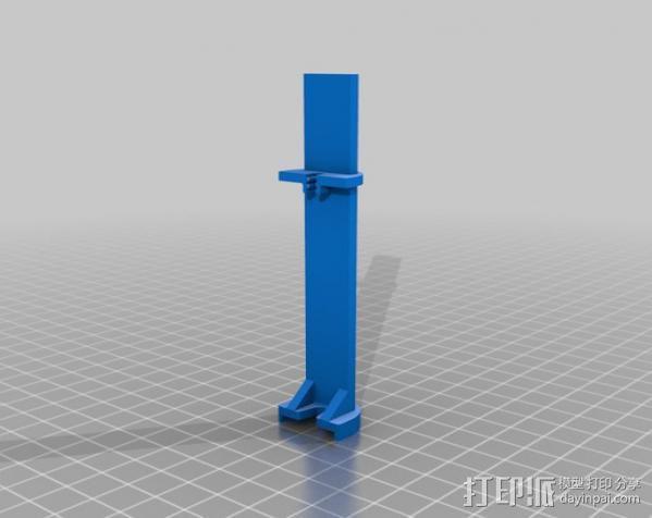 挤出校准器 3D模型  图1