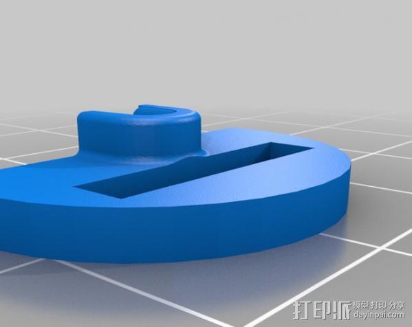 挤出校准器 3D模型  图3