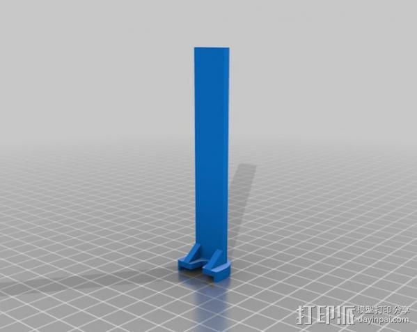 挤出校准器 3D模型  图4