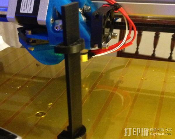挤出校准器 3D模型  图8