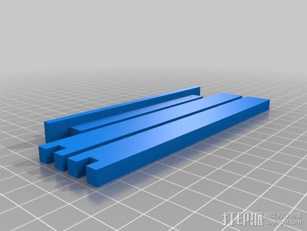 线轴固定器 3D模型  图2