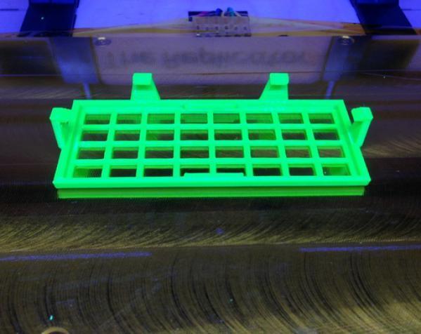 Replicator 1 Dual 打印机风扇罩 3D模型  图3