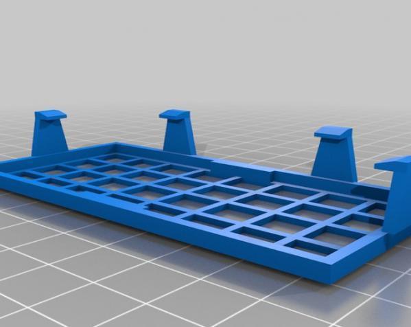 Replicator 1 Dual 打印机风扇罩 3D模型  图4