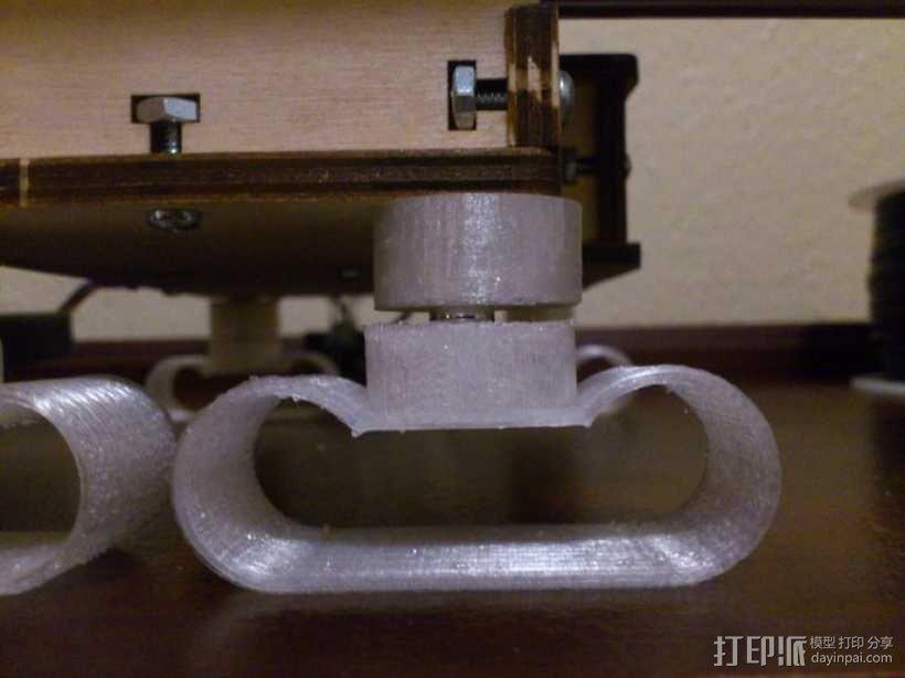 防震器 3D模型  图1