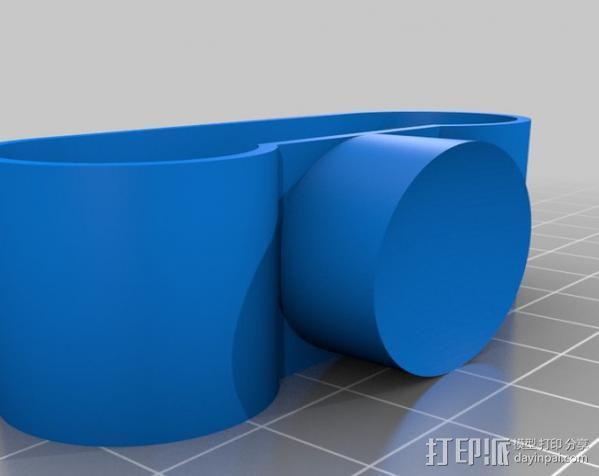 防震器 3D模型  图3