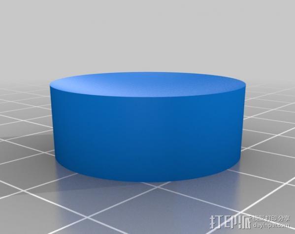防震器 3D模型  图5