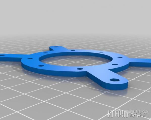 挤出器配件 3D模型  图3