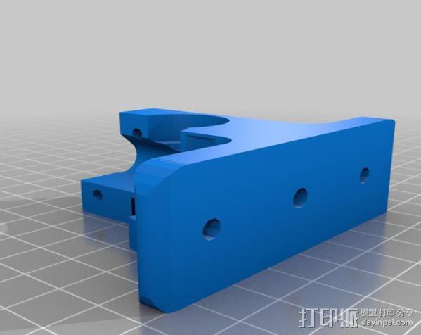 挤出器配件 3D模型  图5