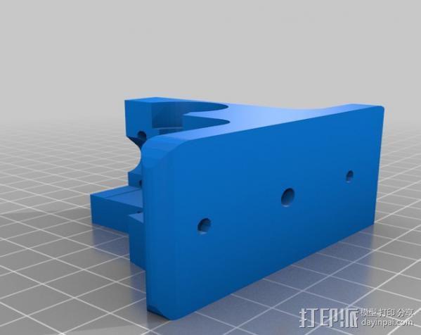 挤出器配件 3D模型  图4
