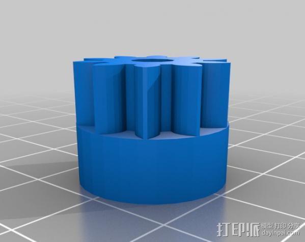 挤出器配件 3D模型  图7