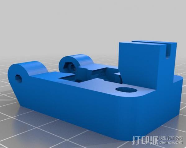挤出器配件 3D模型  图6