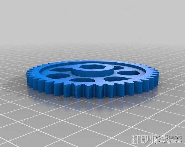 挤出器配件 3D模型  图8