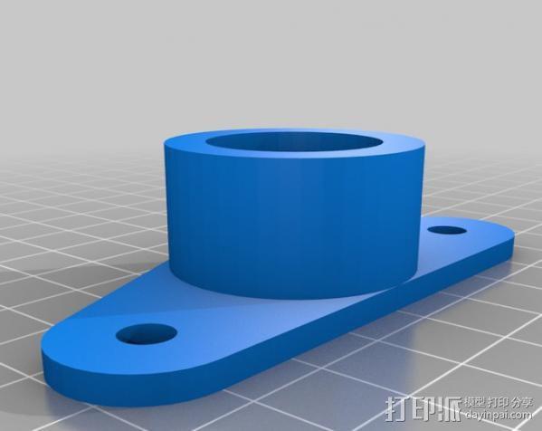 线轴架· 3D模型  图2