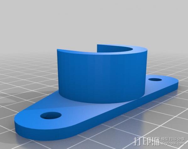 线轴架· 3D模型  图3
