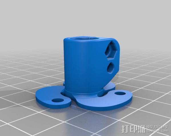 活动轴 3D模型  图5