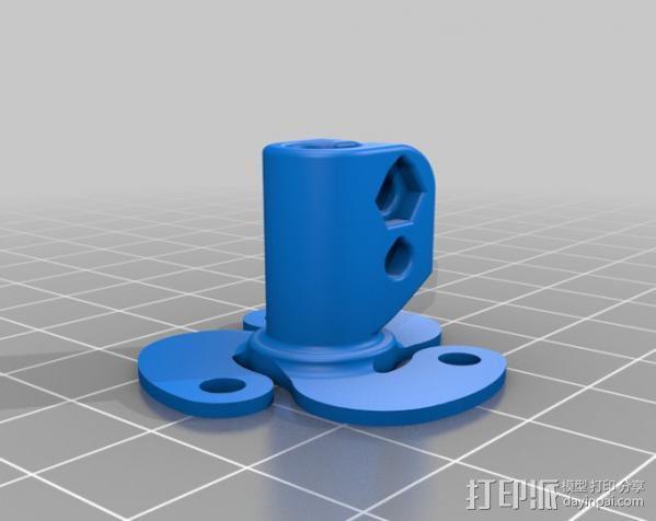 活动轴 3D模型  图6