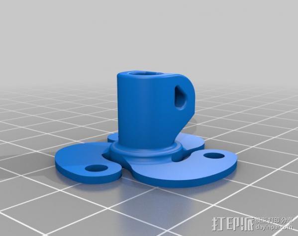 活动轴 3D模型  图7