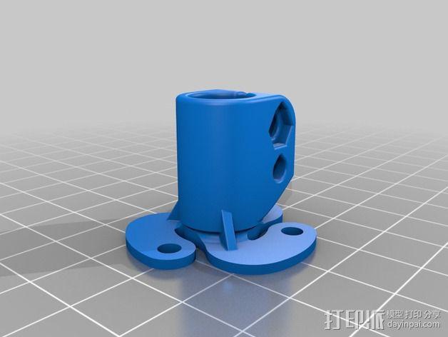 活动轴 3D模型  图8