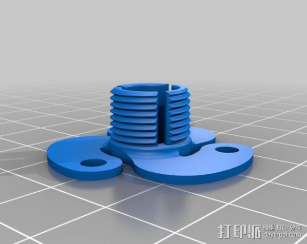 活动轴 3D模型  图9