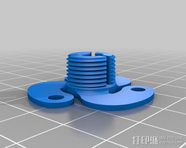 活动轴 3D模型  图11