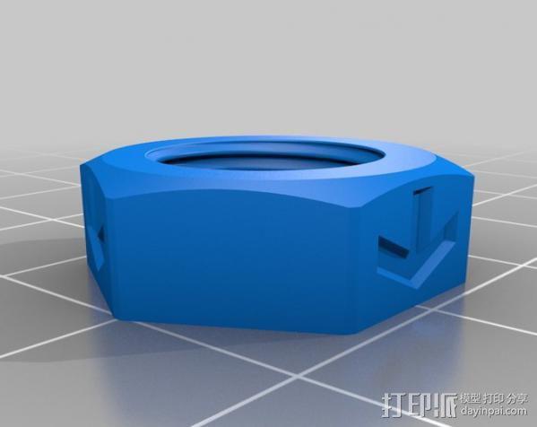 活动轴 3D模型  图12