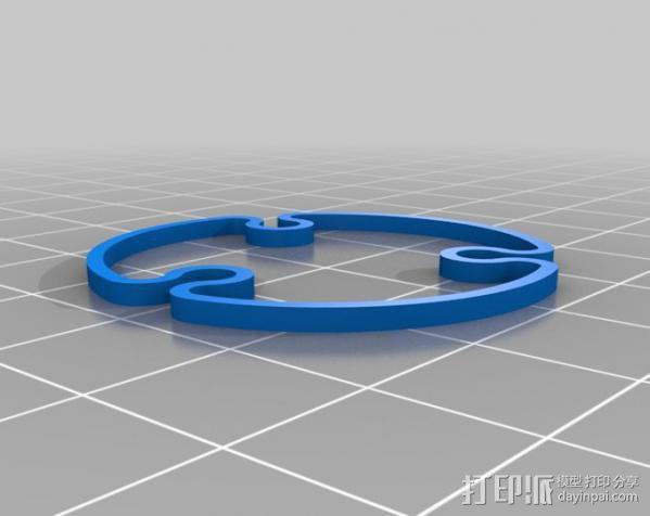 活动轴 3D模型  图13