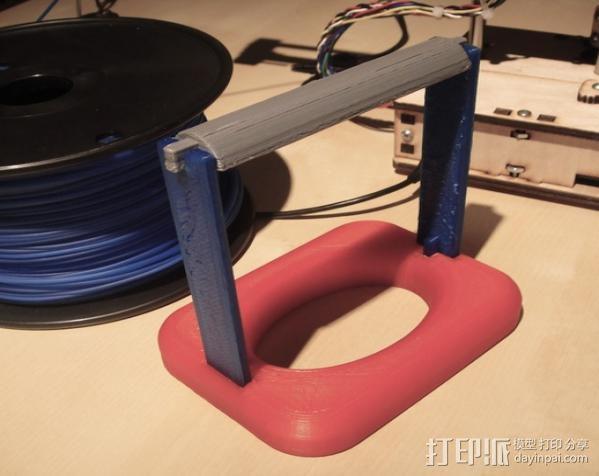 灯丝线轴 3D模型  图2