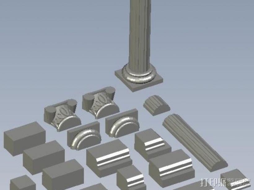 罗马神庙 3D模型  图1