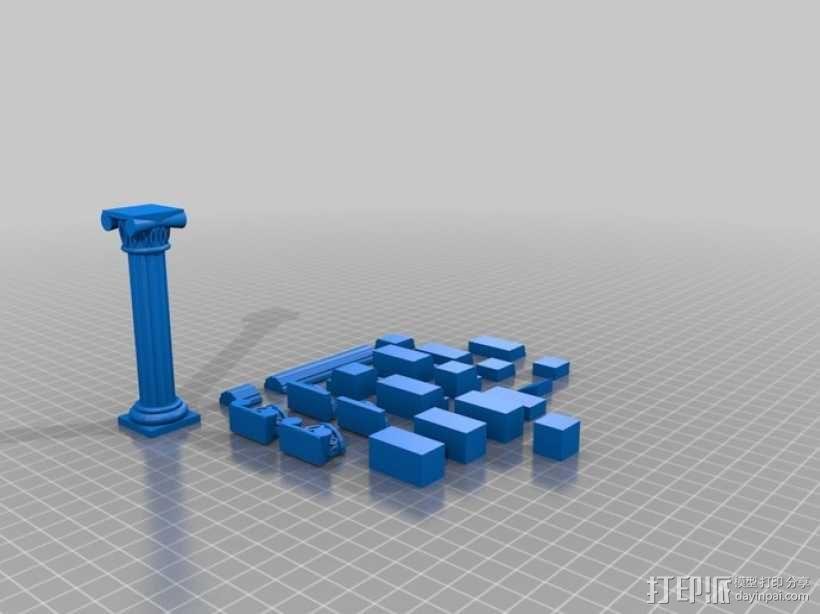 罗马神庙 3D模型  图2