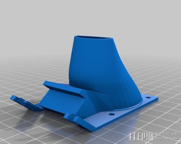 散风机 3D模型  图2