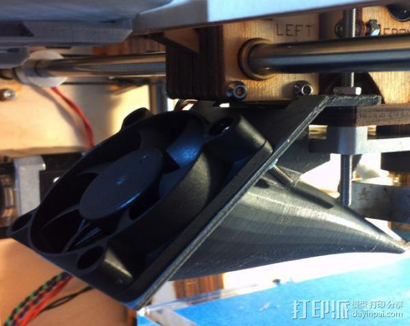 散风机 3D模型  图3