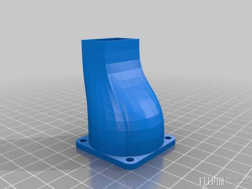冷风机 3D模型  图1