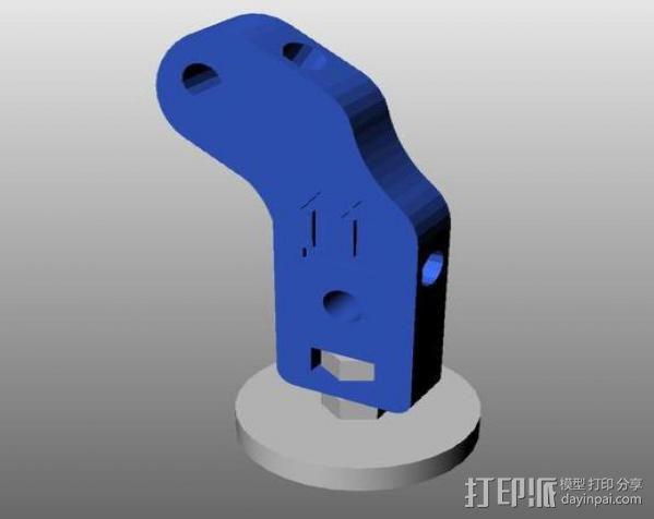 Prusa i2 打印机底座 3D模型  图2