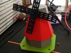 风车模型 3D模型