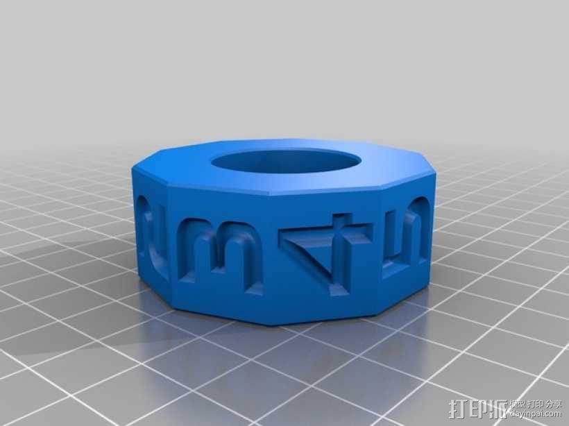 算数轴 3D模型  图5