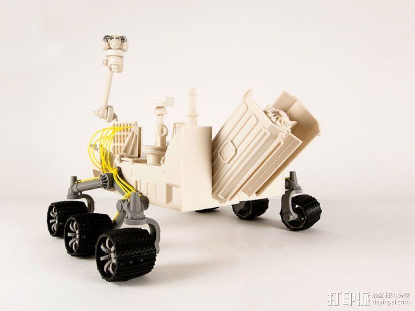火星探测器 3D模型  图1