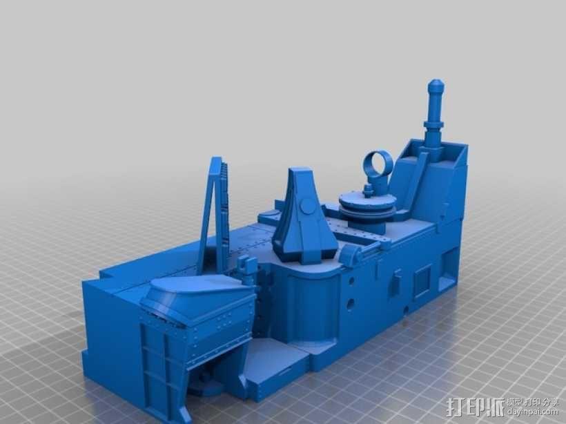 火星探测器 3D模型  图5
