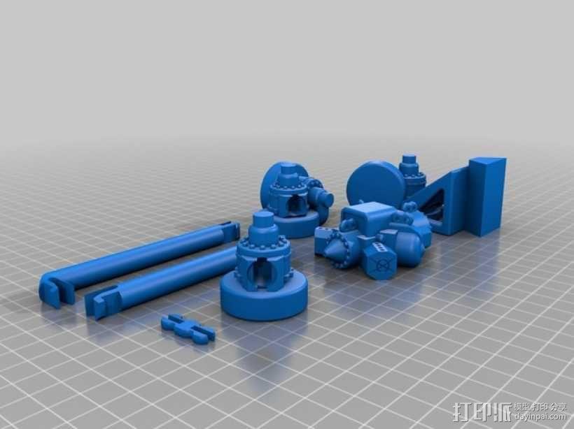 火星探测器 3D模型  图10