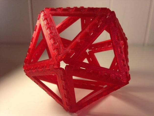 多边形图块 多面体 3D模型  图3