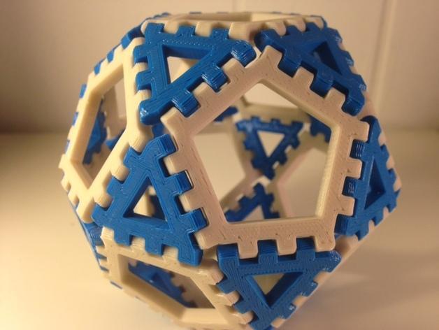 多边形图块 多面体 3D模型  图5