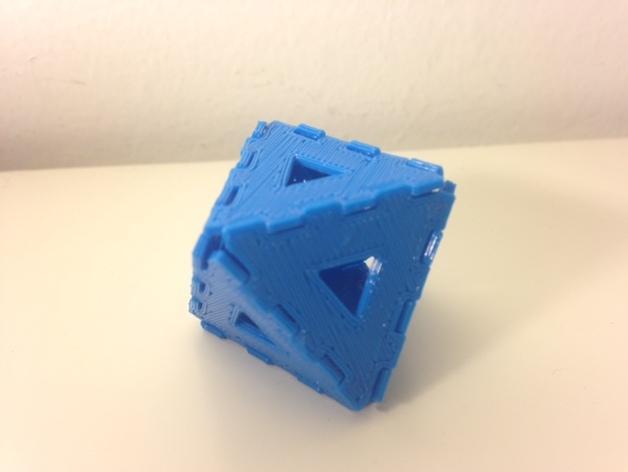 多边形图块 多面体 3D模型  图4