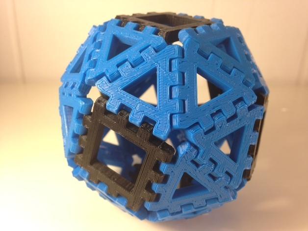 多边形图块 多面体 3D模型  图7