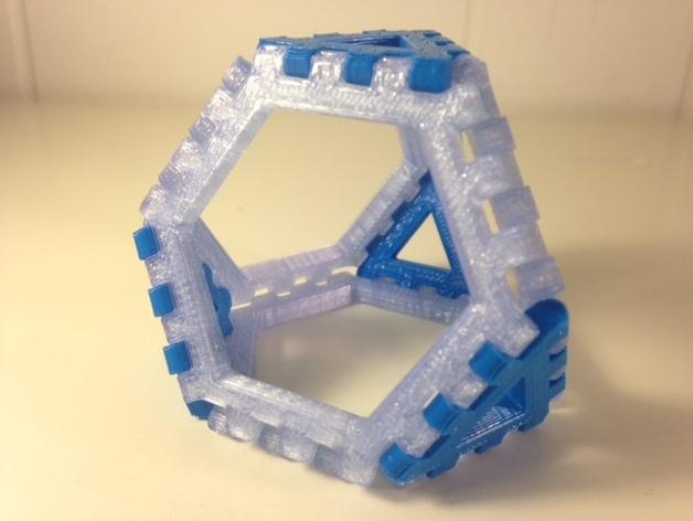 多边形图块 多面体 3D模型  图8