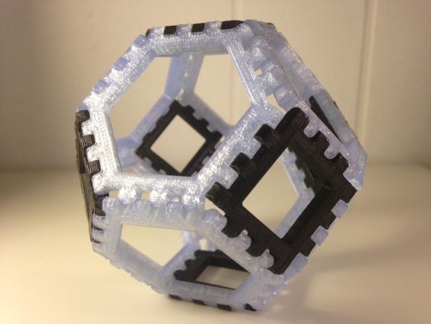多边形图块 多面体 3D模型  图6